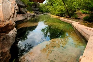 Jacob's Well in the Texas Hill Country, an image in Texas Aquatic Science by author Rudolph Rosen