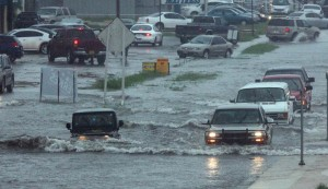Flooding in Texas, an image in Texas Aquatic Science by author Rudolph Rosen