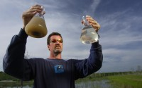 Water treatment worker, an image in Texas Aquatic Ecosystem Science by author Rudolph Rosen