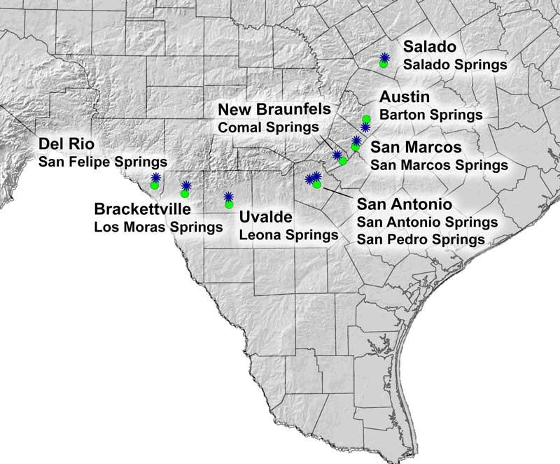 Aquifers And Springs Texas Aquatic Science Curriculum Rudolph