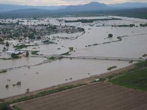 Flood Rio Grande, Presidio, an image in Texas Aquatic Science by author Rudolph Rosen