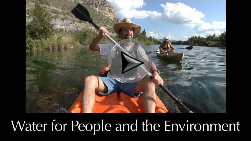 Water for People and the Environment a video in Texas Aquatic Science by author Rudolph Rosen