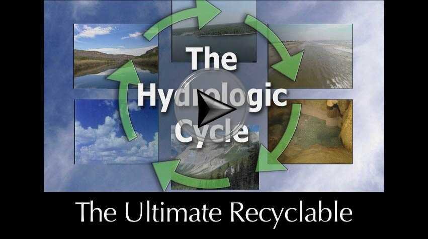 Hydrologic cycle a video in Texas Aquatic Science by author Rudolph Rosen