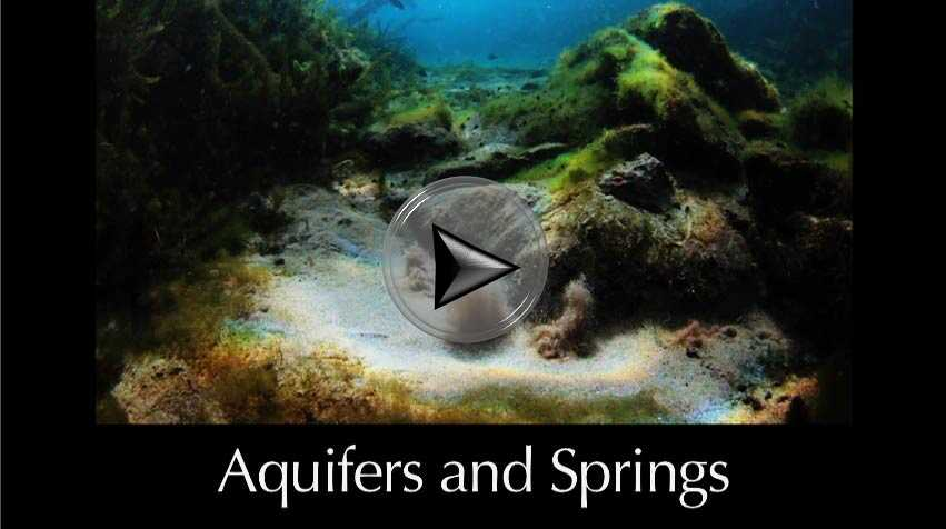 Aquifers and Springs a video in Texas Aquatic Science by author Rudolph Rosen