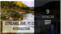 Youtube playlist on streams and rivers science lesson by rudy rosen