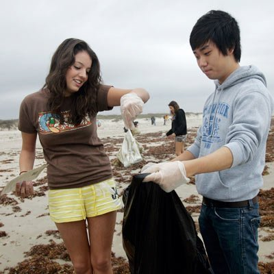 Seaweed, Jellyfish, Beach Trash and Gulf of Mexico Currents - Texas